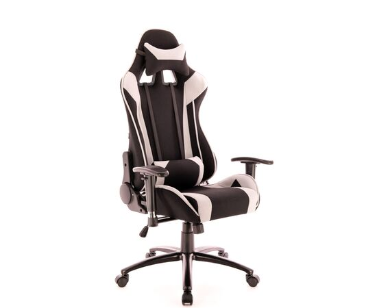 Кресло геймерское Everprof Lotus S4 ткань серая, Цвет товара: черно-серое