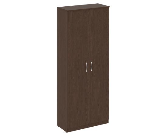 Шкаф высокий широкий для документов (2 высокие двери ЛДСП)NOVA S В.СТ-1.9 Венге 770х360х1915, Цвет товара: Венге