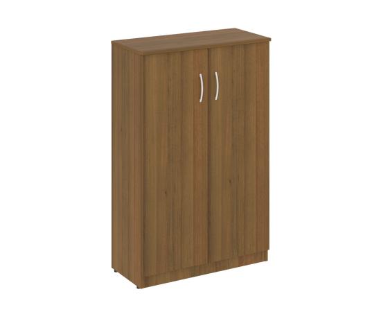 Шкаф для документов средний широкий (2 средние двери ЛДСП ) NOVA S Riva В.СТ-2.3 Орех Гварнери 770х360х1203, Цвет товара: Орех