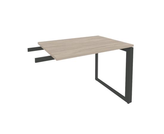 Брифинг-приставка для стола руководителя на О-образном металлокаркасе Onix O.MO-BR-9 RIVA Денвер светлый 980x720x750, Цвет товара: Дуб Аттик