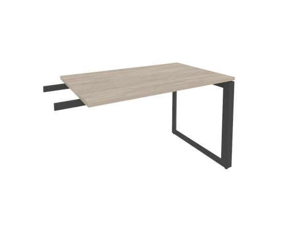 Брифинг-приставка для стола руководителя на О-образном металлокаркасе Onix O.MO-BR-11 RIVA Денвер светлый 1180x720x750