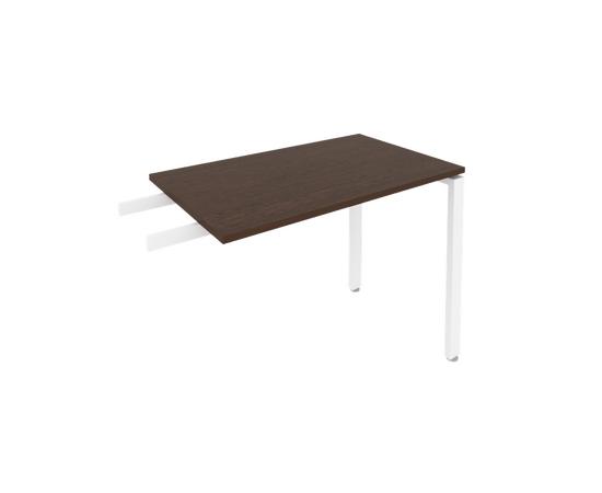 Брифинг приставка к столу на металлокаркасе Б.ПР-3 Венге Цаво Metal system 1000*600*750, Цвет товара: Венге Цаво