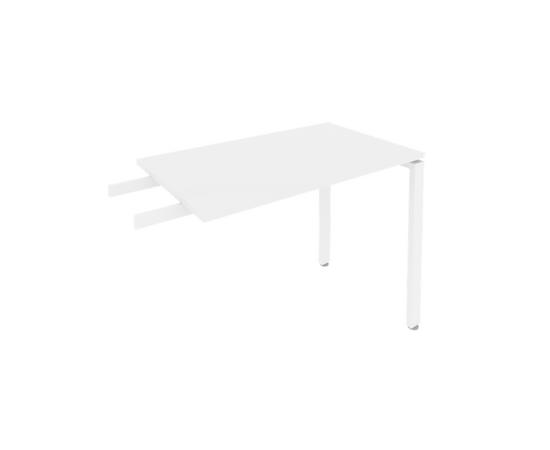 Брифинг приставка к столу на металлокаркасе Б.ПР-3 Белый Metal system 1000*600*750, Цвет товара: Белый