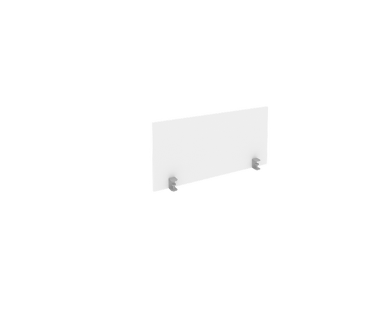 Экран для стола L1000мм Б.ЭКР-1 Белый Metal system 850*408*18, Цвет товара: Белый