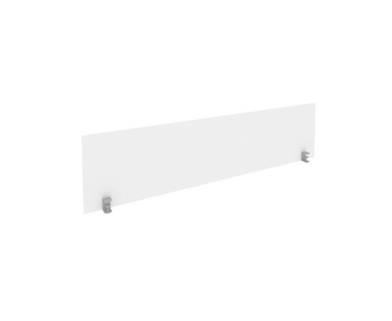 Экран для стола L1200мм Б.ЭКР-2 Белый Metal system 1050*408*18, Цвет товара: Белый