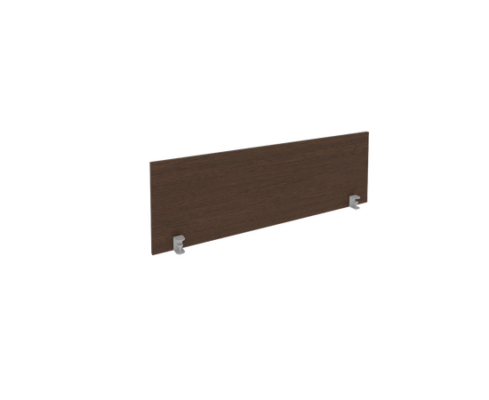 Экран для стола L1400мм Б.ЭКР-3 Венге Metal system 1250*408*18, Цвет товара: Венге Цаво
