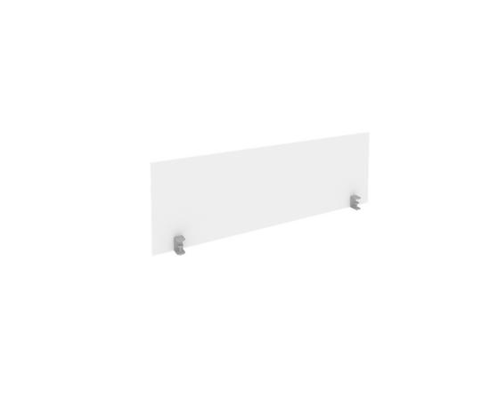 Экран для стола L1400мм Б.ЭКР-3 Белый Metal system 1250*408*18, Цвет товара: Белый
