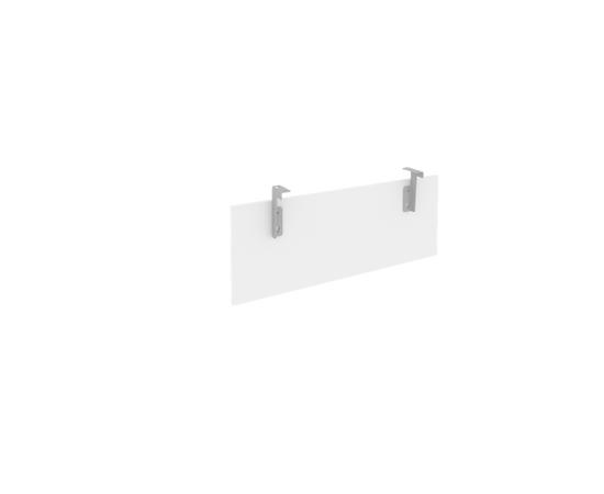 Царга для стола L1000мм Б.ЦС-1 Белый Metal system 850*320*18, Цвет товара: Белый