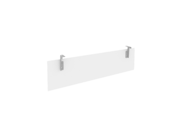 Царга для стола L1200мм Б.ЦС-2 Белый Metal system 1050*320*18, Цвет товара: Белый