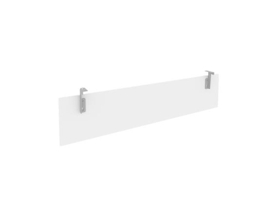 Царга для стола L1800мм Б.ЦС-5 Белый Metal system 1650*320*18, Цвет товара: Белый