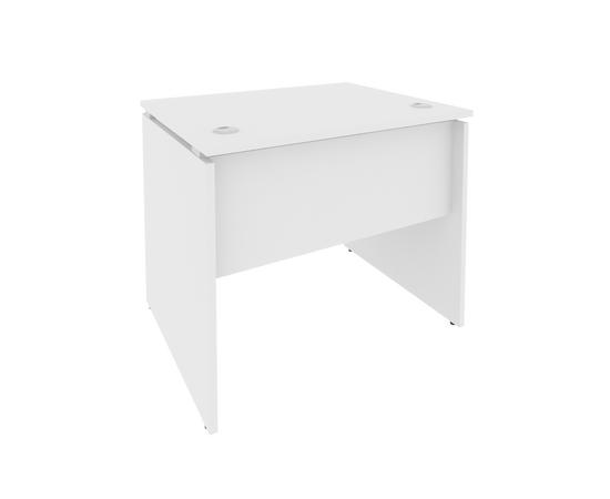 Стол прямой письменный STYLE Л.СП-1 Белый 900х720х750, Цвет товара: Белый