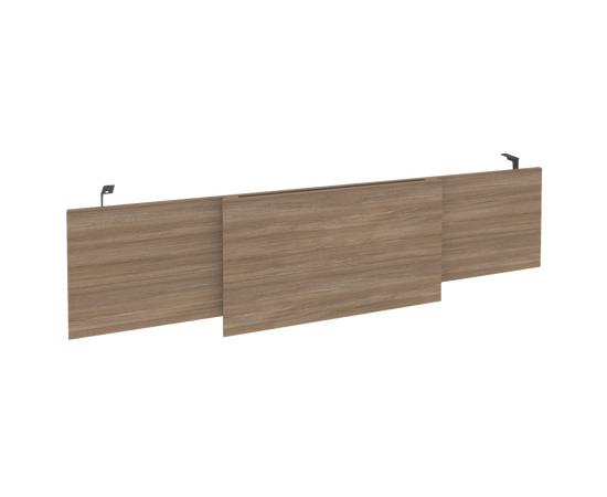 Передняя панель (царга) для стола руководителя Onix O.M-CSR-6 RIVA 1740x450x54, изображение 5