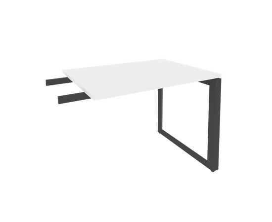 Брифинг-приставка для стола руководителя на О-образном металлокаркасе Onix O.MO-BR-9 RIVA Денвер светлый 980x720x750, Цвет товара: Дуб Аттик, изображение 2