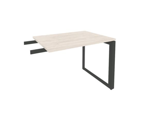 Брифинг-приставка для стола руководителя на О-образном металлокаркасе Onix O.MO-BR-9 RIVA Денвер светлый 980x720x750, Цвет товара: Дуб Аттик, изображение 3