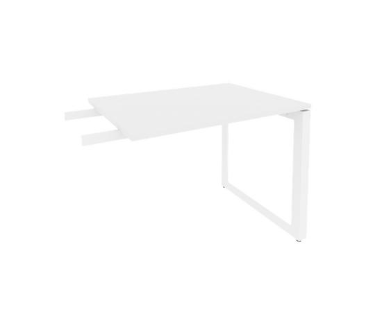 Брифинг-приставка для стола руководителя на О-образном металлокаркасе Onix O.MO-BR-9 RIVA Денвер светлый 980x720x750, Цвет товара: Дуб Аттик, изображение 5