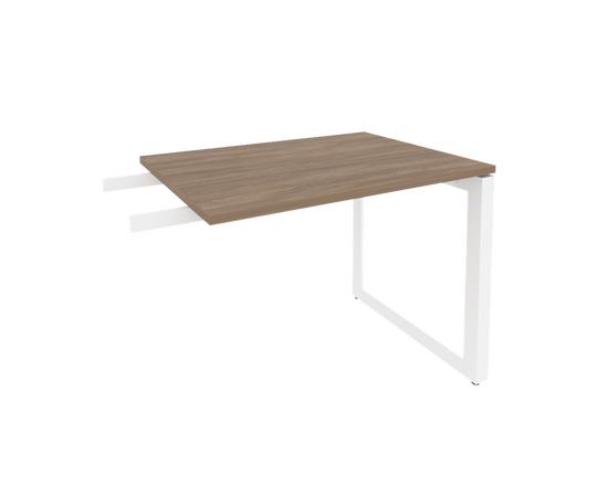 Брифинг-приставка для стола руководителя на О-образном металлокаркасе Onix O.MO-BR-9 RIVA Денвер светлый 980x720x750, Цвет товара: Дуб Аттик, изображение 7