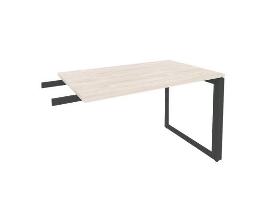 Брифинг-приставка для стола руководителя на О-образном металлокаркасе Onix O.MO-BR-11 RIVA Денвер светлый 1180x720x750, изображение 3
