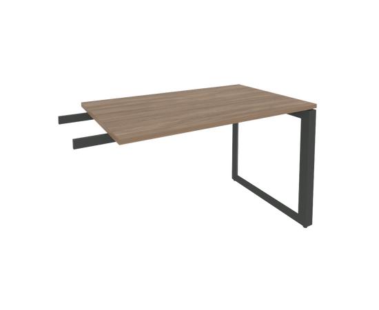 Брифинг-приставка для стола руководителя на О-образном металлокаркасе Onix O.MO-BR-11 RIVA Денвер светлый 1180x720x750, изображение 4