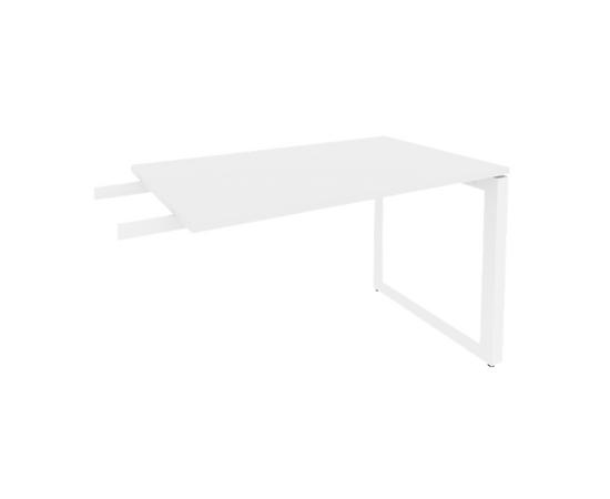 Брифинг-приставка для стола руководителя на О-образном металлокаркасе Onix O.MO-BR-11 RIVA Денвер светлый 1180x720x750, изображение 5