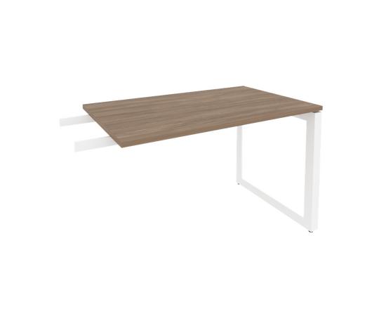 Брифинг-приставка для стола руководителя на О-образном металлокаркасе Onix O.MO-BR-11 RIVA Денвер светлый 1180x720x750, изображение 7