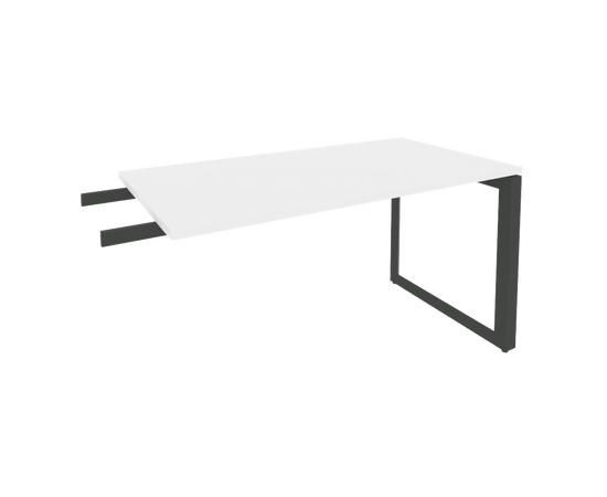 Брифинг-приставка для стола руководителя на О-образном металлокаркасе Onix O.MO-BR-13 RIVA Денвер светлый 1380x720x750, изображение 2