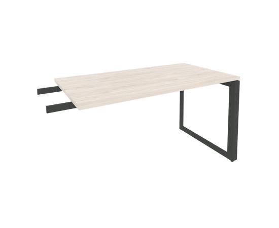 Брифинг-приставка для стола руководителя на О-образном металлокаркасе Onix O.MO-BR-13 RIVA Денвер светлый 1380x720x750, изображение 3