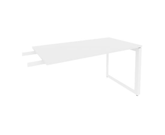 Брифинг-приставка для стола руководителя на О-образном металлокаркасе Onix O.MO-BR-13 RIVA Денвер светлый 1380x720x750, изображение 5
