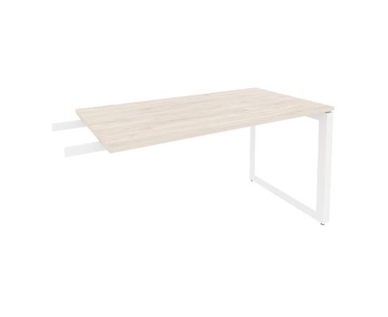 Брифинг-приставка для стола руководителя на О-образном металлокаркасе Onix O.MO-BR-13 RIVA Денвер светлый 1380x720x750, изображение 6