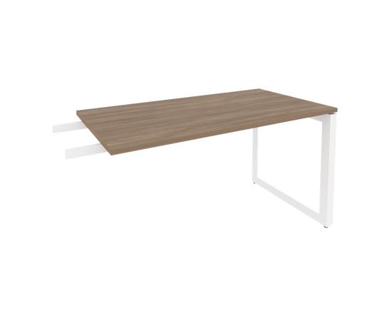 Брифинг-приставка для стола руководителя на О-образном металлокаркасе Onix O.MO-BR-13 RIVA Денвер светлый 1380x720x750, изображение 7
