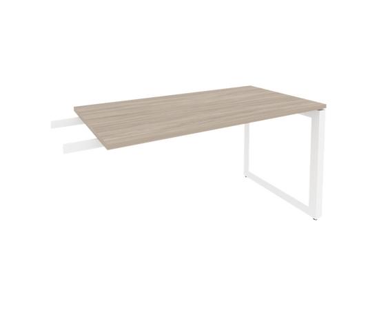 Брифинг-приставка для стола руководителя на О-образном металлокаркасе Onix O.MO-BR-13 RIVA Денвер светлый 1380x720x750, изображение 8