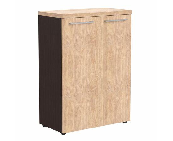 Шкаф средний для документов закрытый AMC 85.1 Венге магия Skyland ALTO 850х430х1165, Цвет товара: Венге магия, изображение 2