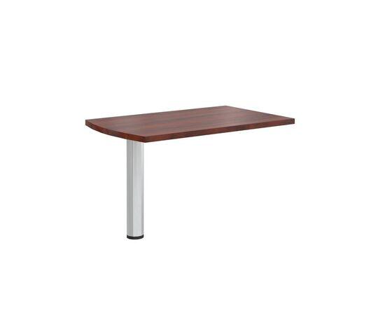 Брифинг-приставка с опорой к столу руководителя В-302.1 Венге магия Skyland Born 1300х800х750, Цвет товара: Венге магия, изображение 4