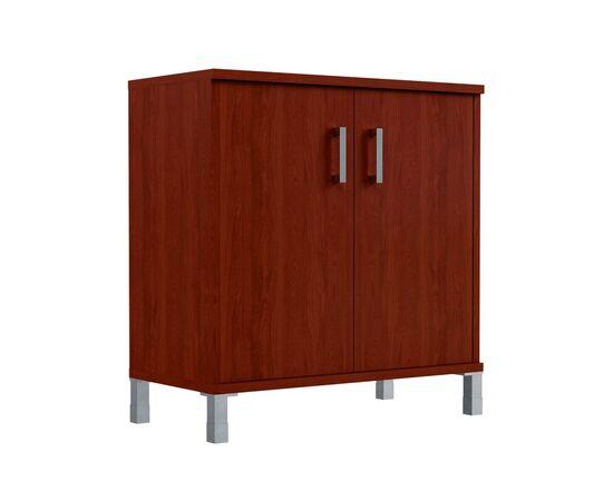 Шкаф для документов с дверьми низкий широкий В-410.2 Венге магия Skyland Born 900х450х920, Цвет товара: Венге магия, изображение 2