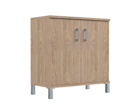 Шкаф для документов с дверьми низкий широкий В-410.2 Венге магия Skyland Born 900х450х920, Цвет товара: Венге магия, изображение 3