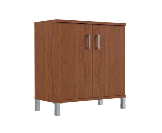 Шкаф для документов с дверьми низкий широкий В-410.2 Венге магия Skyland Born 900х450х920, Цвет товара: Венге магия, изображение 4