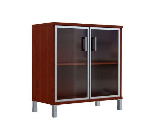 Шкаф для документов с дверьми низкий широкий В-410.4 Венге магия Skyland Born 900х450х920, Цвет товара: Венге магия, изображение 2