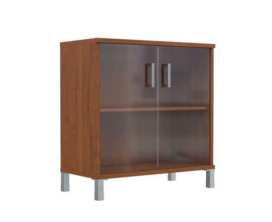 Шкаф для документов с дверьми низкий широкий В-410.5 Венге магия Skyland Born 900х450х920, Цвет товара: Венге магия, изображение 4