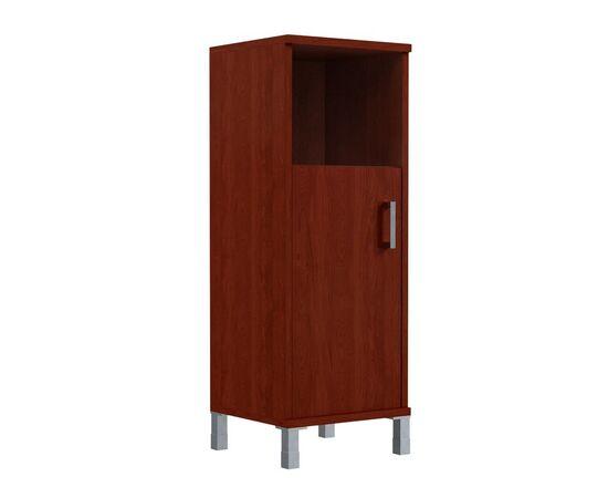 Шкаф-колонка для документов с левой дверкой средний В-421.2L Венге магия Skyland Born 475х450х1286, Цвет товара: Венге магия, изображение 2