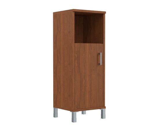 Шкаф-колонка для документов с левой дверкой средний В-421.2L Венге магия Skyland Born 475х450х1286, Цвет товара: Венге магия, изображение 4