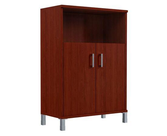 Шкаф для документов с дверьми средний широкий В-420.2 Венге магия Skyland Born 900х450х1286, изображение 2