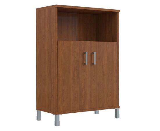 Шкаф для документов с дверьми средний широкий В-420.2 Венге магия Skyland Born 900х450х1286, изображение 4