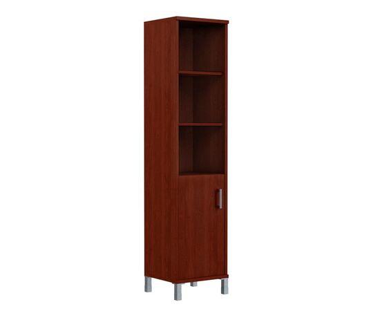 Шкаф-колонка высокая с левой глухой малой дверью для документов В-431.2L Венге магия Skyland Born 475х450х2054, Цвет товара: Венге магия, изображение 3