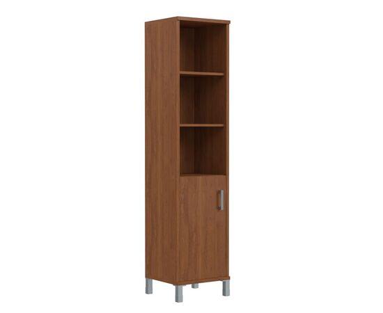 Шкаф-колонка высокая с левой глухой малой дверью для документов В-431.2L Венге магия Skyland Born 475х450х2054, Цвет товара: Венге магия, изображение 5