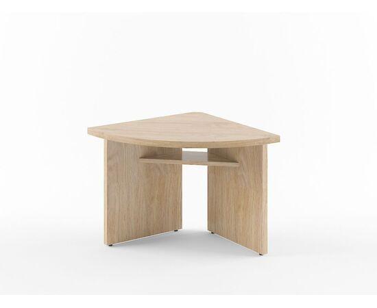 Элемент угловой переговорного стола В-306 Бургунди Skyland Born 840х840х750, Цвет товара: бургунди, изображение 2