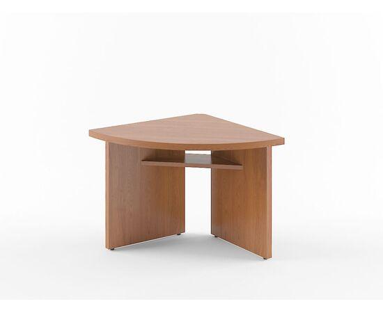 Элемент угловой переговорного стола В-306 Бургунди Skyland Born 840х840х750, Цвет товара: бургунди, изображение 3