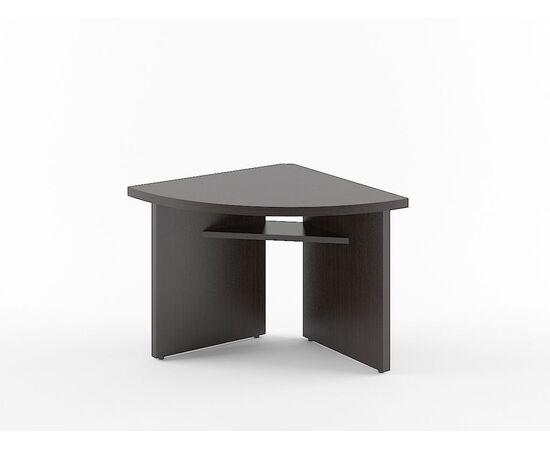 Элемент угловой переговорного стола В-306 Бургунди Skyland Born 840х840х750, Цвет товара: бургунди, изображение 4