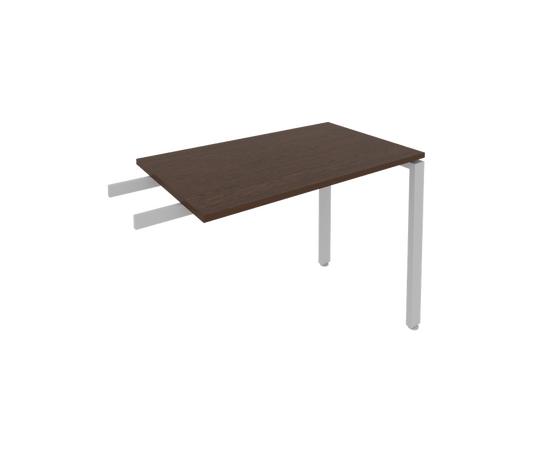 Брифинг приставка к столу на металлокаркасе Б.ПР-3 Венге Цаво Metal system 1000*600*750, Цвет товара: Венге Цаво, изображение 2