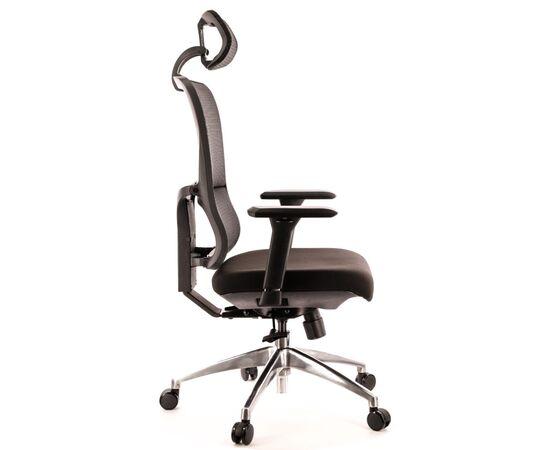 Компьютерное кресло для руководителя Everprof Everest S сетка черный, Цвет товара: Черный, изображение 4