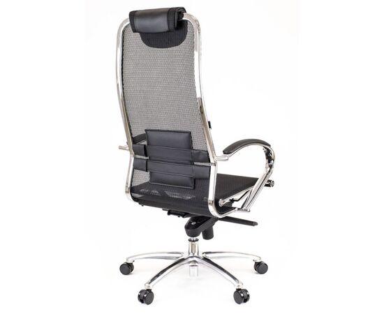 Компьютерное кресло для руководителя Everprof Deco Сетка Черный, Цвет товара: Черный, изображение 3