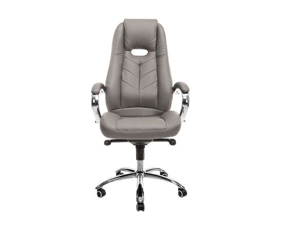Кресло для руководителя в офис Everprof Drift M Экокожа Серый